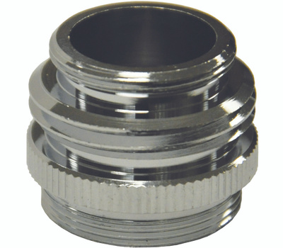 Danco 10513 Garden Hose Adapter Chrome