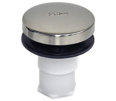 Danco 10755 Touch Toe Tub Stopper Brushed Nickel