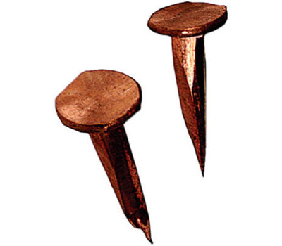 Hillman 122617 1/2 Ounce 3/4 Inch #14 Copper Cut Tack