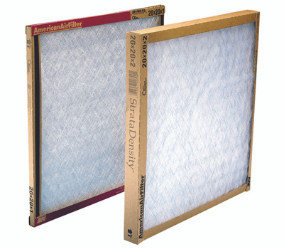 AAF Flanders 120202-1 Delta Fiberglass Air Filter 20 Inch By 20 Inch By 2 Inch