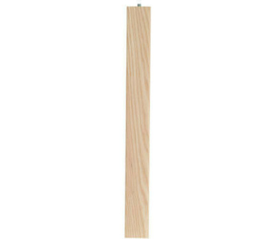 Waddell 2656 6 Inch Ash Parsons Table Leg