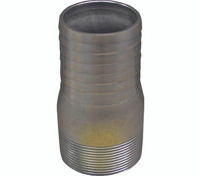 Genova or sub 370420 2 Inch Galvanized Insert Male Adapter Insert X Mip