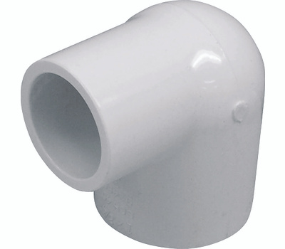 Genova 30717 1 By 3/4 Inch PVC 90 Degree Reducing Elbow Slip X Slip