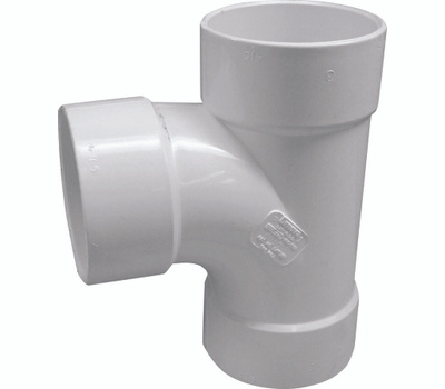 Genova 41160 6 Inch Pvc S And D Sanitary Tee