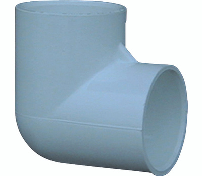 Genova 30705CP 1/2 Inch PVC 90 Degree Elbow Slip X Slip Bag Of 10