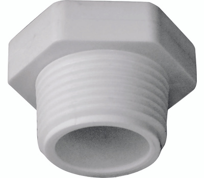 Genova 31807 3/4 Inch PVC Male Threaded Plug