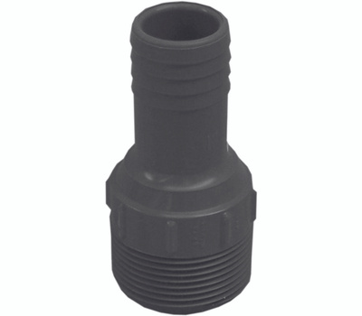 Genova or sub 350440 1-1/4 By 1 Inch Poly Insert Male Reducing Adapter