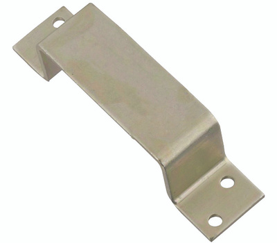 National Hardware N235-291 N100-743 N235-481 Closed Bar Holder For 2 By 4 Lumber 6-3/8 Inch By 1-1/2 Inch Zinc Plated Steel