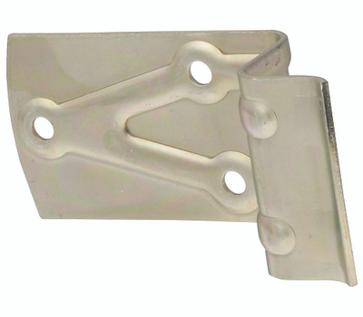 National Hardware N100-834 Sliding Barn Door Bumper 2 Inch Zinc Plated Steel