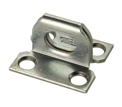 National Hardware N102-624 Safety Hasp Staple Only 1-1/16 Inch By 1-1/8 Inch Zinc Plated Steel