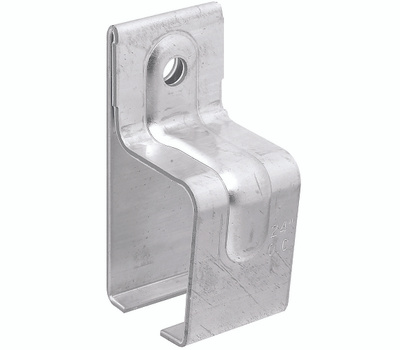 National Hardware N104-331 N104-349 Single Box Rail Bracket With Lag Galvanized Steel