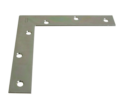 National Hardware N114-181 Flat Corner Iron Brace 6 Inch By 1 By 0.08 Inch Weldable Plain Steel Bulk