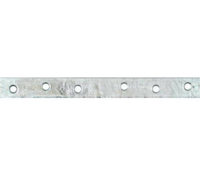 National Hardware N220-368 Mending Brace 10 By 1 By 0.16 Inch Galvanized Steel Bulk