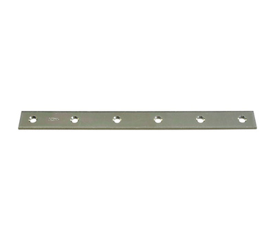 National Hardware N220-335 12 By 1-1/8 Inch Zinc Mending Plate