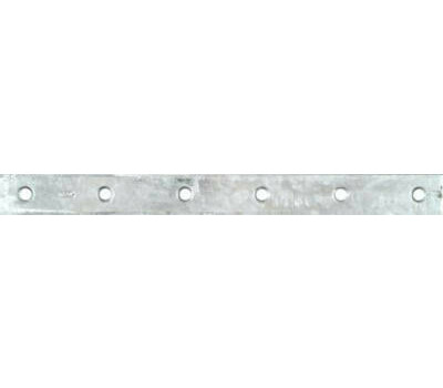 National Hardware N220-376 Mending Brace 12 By 1-1/8 By 0.19 Inch Galvanized Steel Bulk