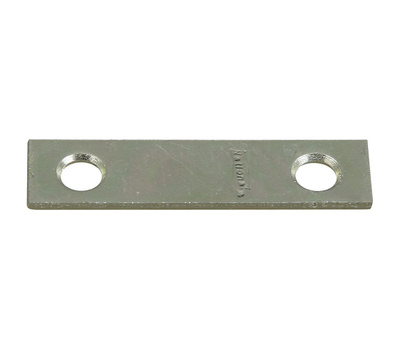 National Hardware N272-716 Mending Brace 2 By 1/2 By 0.07 Inch Zinc Plated Steel Bulk