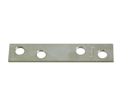 National Hardware N272-724 Mending Brace 3 By 5/8 By 0.08 Inch Zinc Plated Steel Bulk
