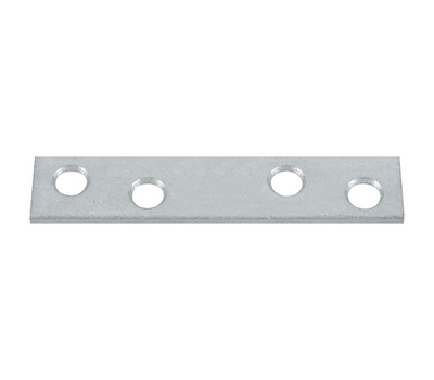 National Hardware N114-363 3 By 5/8 Inch Galvanized Plated Steel Mending Plate Bulk