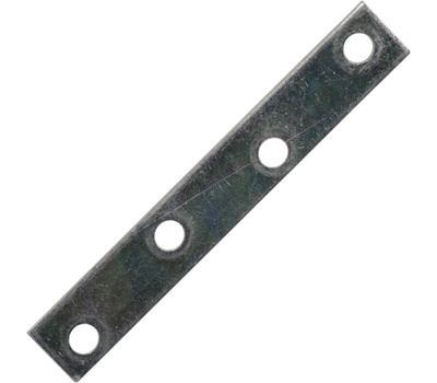 National Hardware N272-732 4 By 5/8 Inch Zinc Mending Plate Bulk