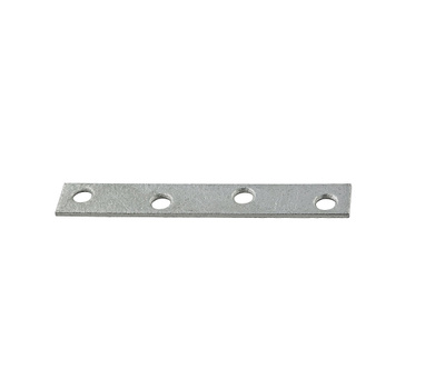 National Hardware N114-413 4 By 5/8 Inch Galvanized Mending Plate Bulk