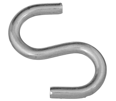 National Hardware N273-441 3 Inch Zinc Plated Steel Heavy Open S Hook