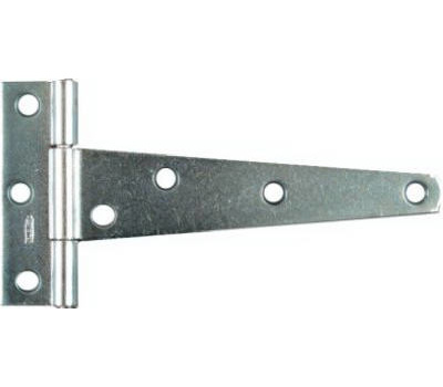National Hardware N128-652 Light Duty T-Hinges 5 Inch Zinc Plated Steel 2 Pack