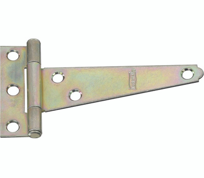 National Hardware N128-694 Light Duty T-Hinge 6 Inch Zinc Plated Steel Bulk
