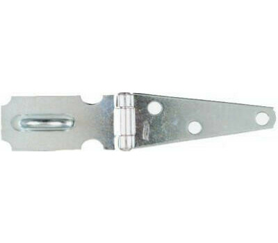 National Hardware N129-577 Hinge Hasp 3 Inch 3/4 Inch Staple 5-1/4 In Overall 1-5/32 Over Pin