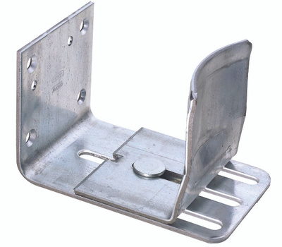 National Hardware N131-706 Single Adjustable Galvanized Door Guide