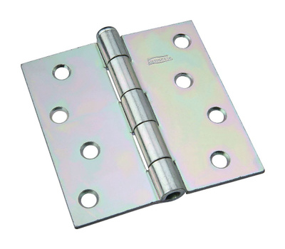 National Hardware N140-020 Removable Pin Broad Hinge 4 Inch Zinc Plated Steel Bulk