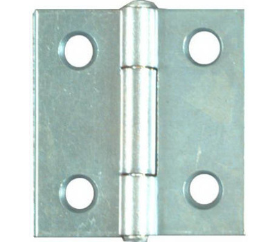 National Hardware N146-043 S751-560 N227-231 Non-Removable Pin 1-1/2 Inch Zinc Narrow Hinges 2 Pack