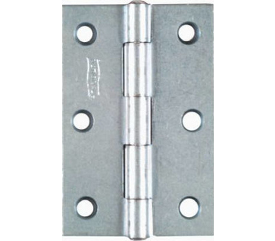 National Hardware N146-373 3 By 2 Inch Zinc Narrow Hinges 2 Pack