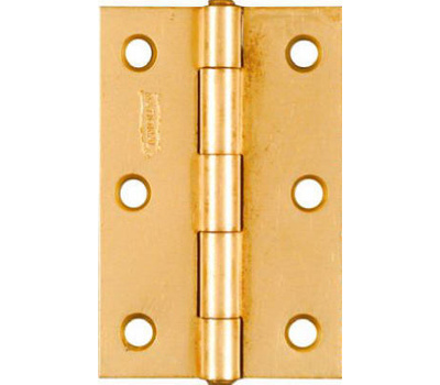 National Hardware N146-399 3 By 2 Inch Dull Brass Finish Narrow Hinges 2 Pack