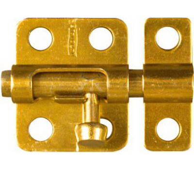 National Hardware N151-266 Window Barrel Bolt 2 Inch Brass Finish