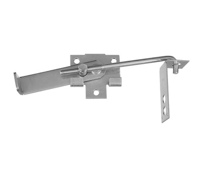 National Hardware N161-760 Jamb Latch 7 Inch Hook Cam Action Zinc Plated Steel