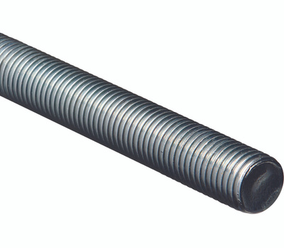 National Hardware N179-663 Threaded Steel Rod 1 Inch Zinc Plated 8 TPI By 72 Inch Zinc Plated