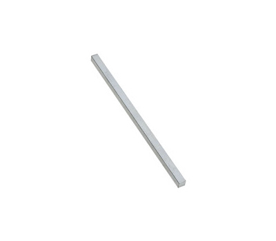 National Hardware N180-208 Square Key Stock 1/2 By 12 Inch Zinc Plated Steel