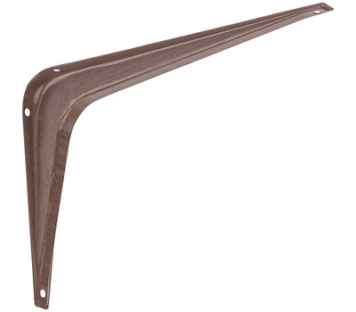National Hardware N185-025 Utility Shelf Bracket 6 By 8 Inch Fruitwood