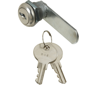 National Hardware N185-272 Door Drawer Utility Lock Keyed Alike 1/4 Inch Chrome Plated Die-Cast Zinc