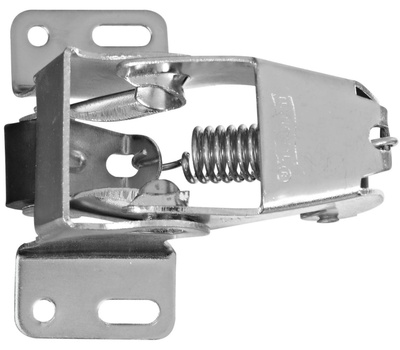 National Hardware N192-773 Screen Door Catch Zinc Plated Steel