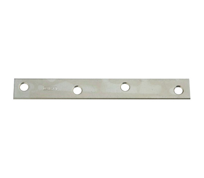 National Hardware N220-285 Mending Brace 6 By 3/4 By 0.11 Inch Zinc Plated Steel Bulk