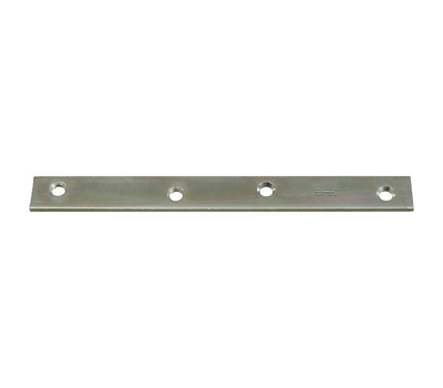 National Hardware N220-293 8 By 7/8 Inch Zinc Mending Plate