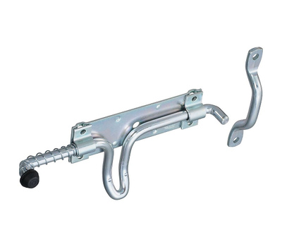 National Hardware N208-454 Stall & Gate Latch Zinc Plated Steel