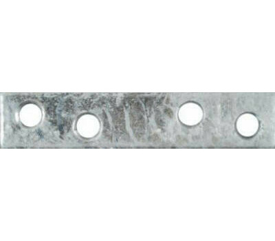 National Hardware N208-801 Mending Braces 3 By 5/8 By 0.08 Inch Galvanized Steel 4 Pack