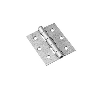 National Hardware N208-850 Removable Pin Broad Hinge 3 By 2-1/2 Inch Galvanized Steel With Stainless Steel Pin 2 Pack
