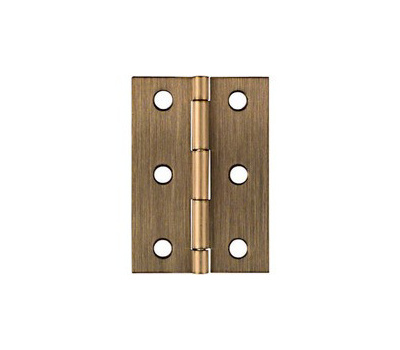 National Hardware N211-409 Broad Craft And Hobby Hinges 2-1/2 By 1-3/4 Inch Bright Solid Brass 2 Pack