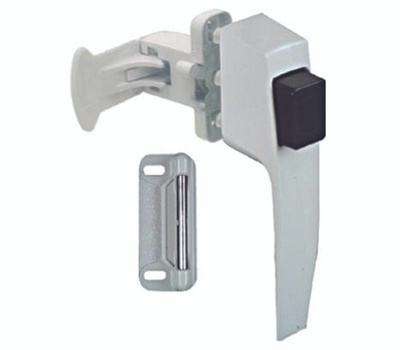 National Hardware N213-165 Push Button Latch White