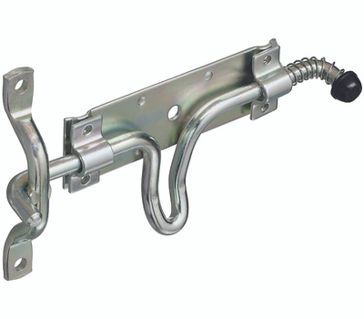 National Hardware N214-304 Stall & Gate Utility Latch Zinc Plated Steel
