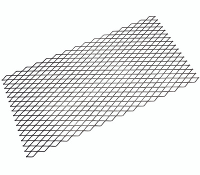 National Hardware N215-780 Expanded Steel 3/4 Inch Grid 13 Gauge 32 Inch By 16 Inch Weldable Plain Steel