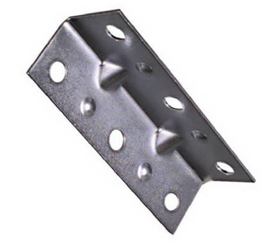 National Hardware N220-061 S838-946 Wide Inside Corner Braces 2-1/2 By 3/4 By 0.04 Inch Zinc Plated Steel 4 Pack